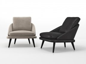Lawson Lounge Legs Armchair