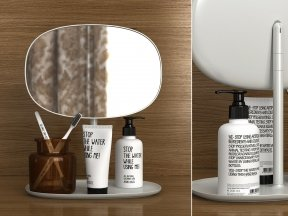 Bath Vanity Mirror Set