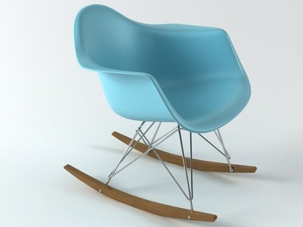 Eames Plastic Armchair : Eames plastic armchair rar d modell vitra