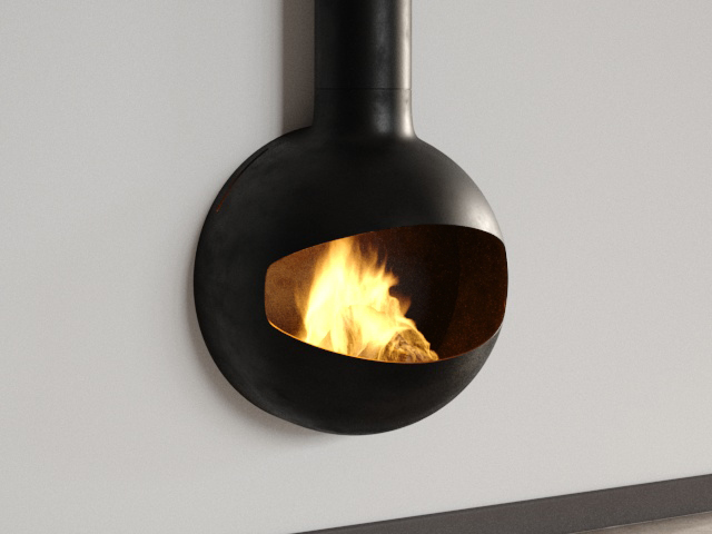 Emifocus Open DV Fireplace 3