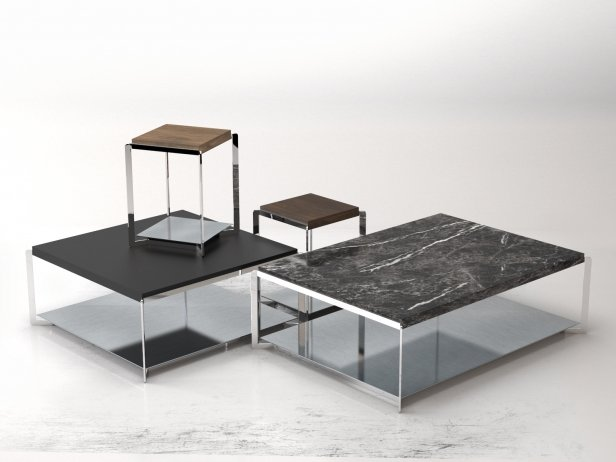 Portfolio Coffee Table 3d Model Molteni C