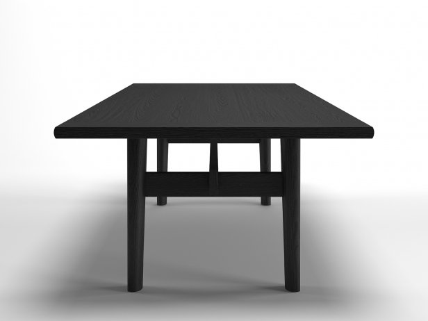Home Hotel Rectangular Dining Table 3