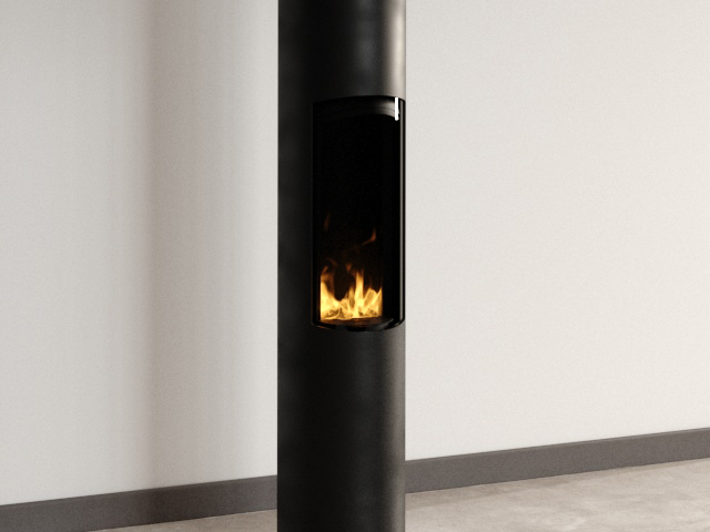 Slimfocus S Pied Gas Fireplace 3