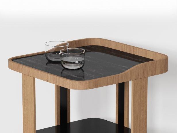 Postmoderne Bedside Table 3