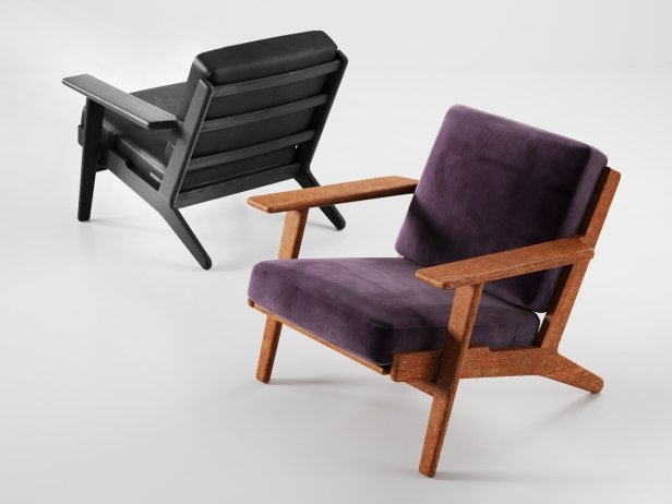 Hans Wegner Plank Chair 2