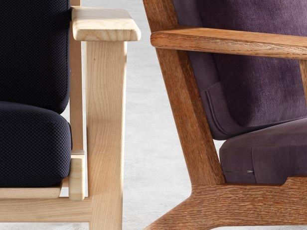Hans Wegner Plank Chair 3d model Getama Danmark
