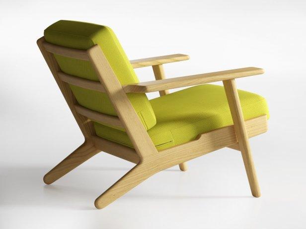 Hans Wegner Plank Chair 4