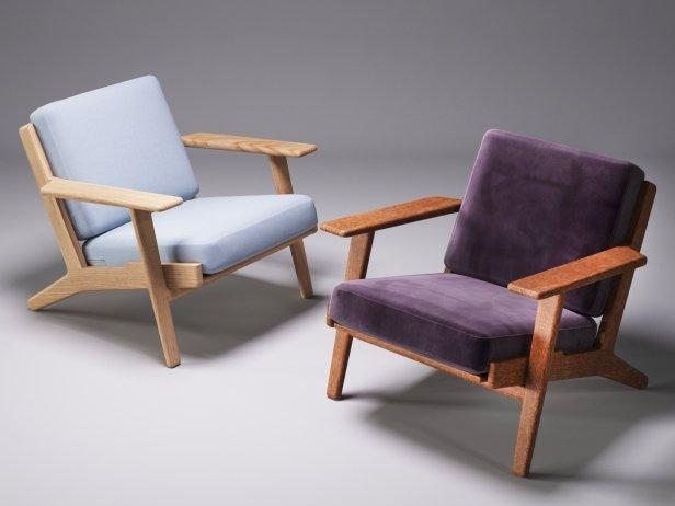 Hans Wegner Plank Chair 5