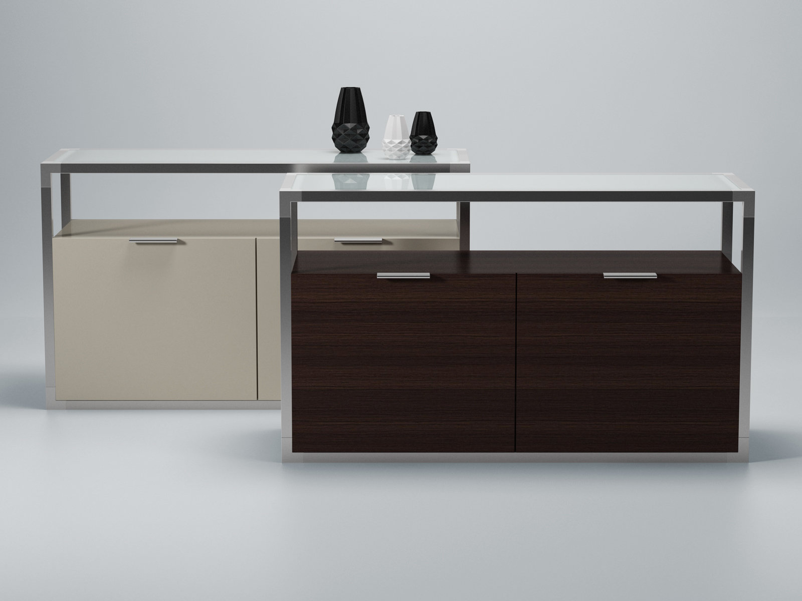 dedicato sideboard 3d model ligne roset. Black Bedroom Furniture Sets. Home Design Ideas