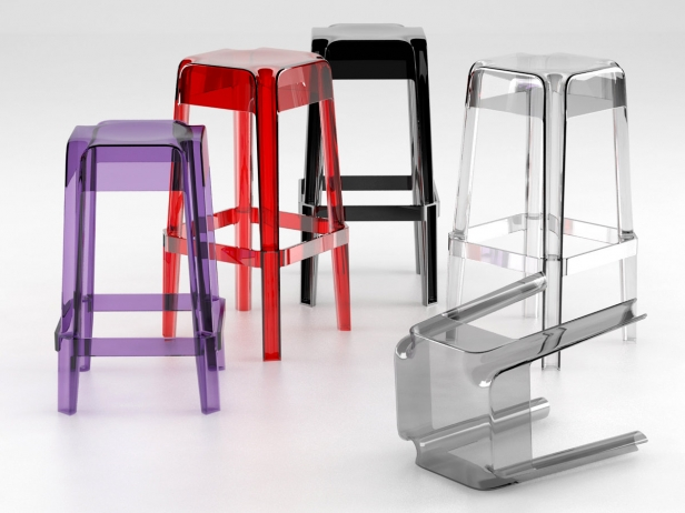Transparent Barstools 12