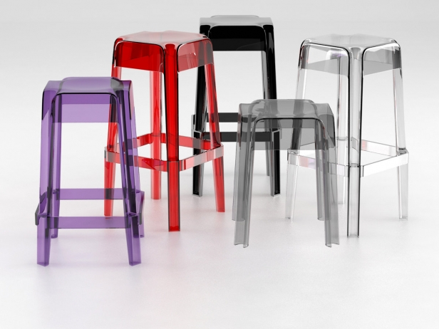 Transparent Barstools 13