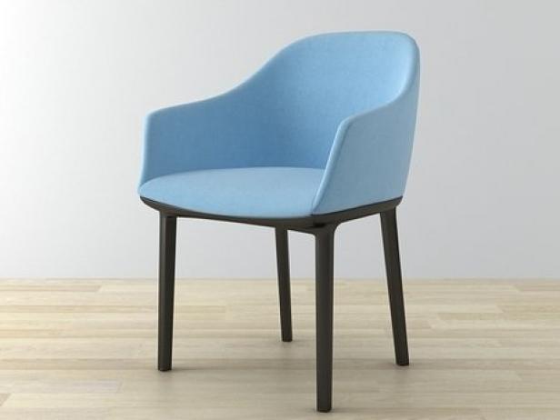 softshell chair 3d model vitra. Black Bedroom Furniture Sets. Home Design Ideas