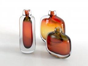 ARCADE Mineralia Amber Vases