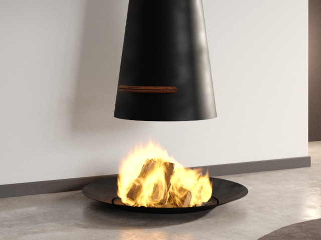 Filiofocus Telescopic Fireplace 3