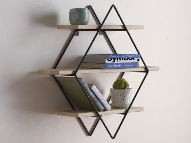 Diamond Cross Planes Shelf 1