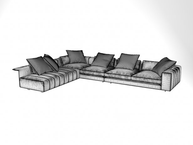 Freeman Corner Sofa System B 6