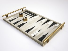 Shagreen Backgammon Game