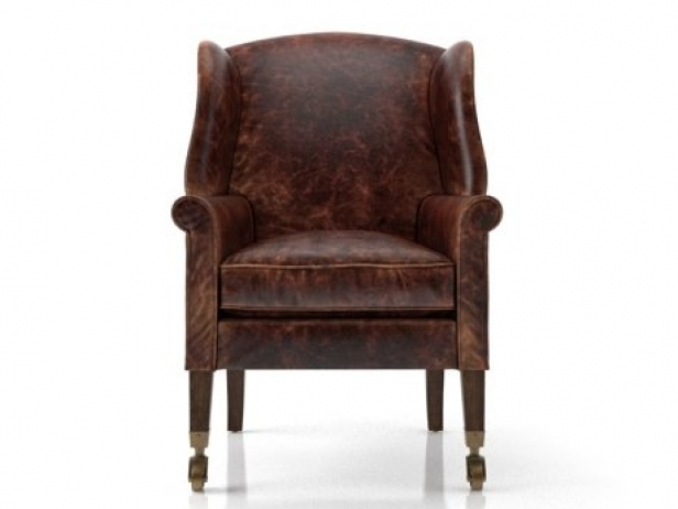 Asher Leather Chair 2