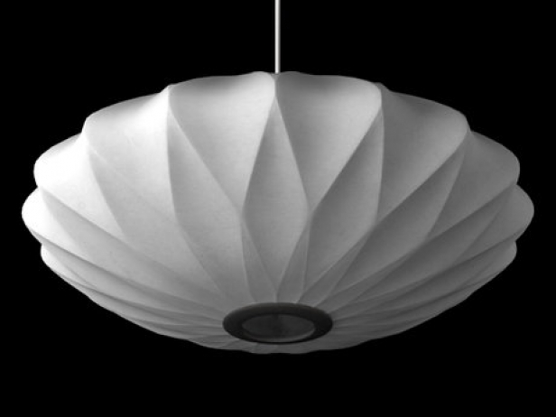 Nelson Bubble Lamp Criss Cross 3d Model Modernica Usa