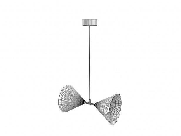 Triple Double Pendant Lamp 6