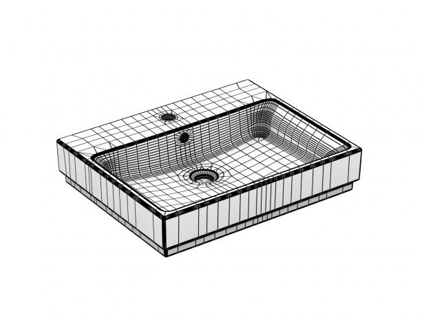Eurocube Countertop Basin 60 Set 6