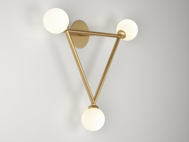 Triangle Wall Lamps 3