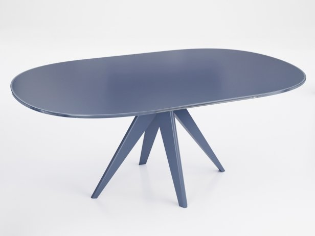 Noa 180 Oval Dining Table 3