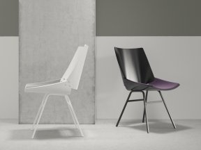 Shell Chair with Seat Cushion
