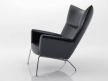 CH445 Wing Chair 4