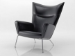 CH445 Wing Chair 3