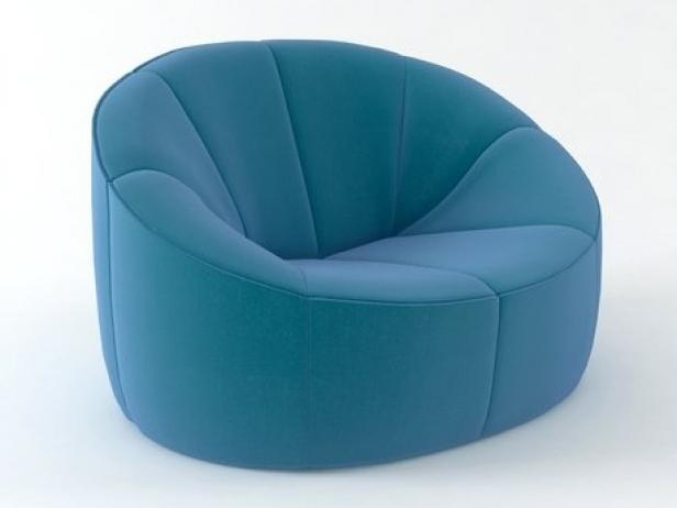pumpkin armchair 3d model ligne roset. Black Bedroom Furniture Sets. Home Design Ideas