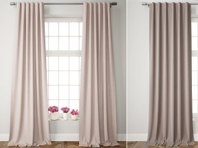 Velvet Pole Pocket Curtains 2