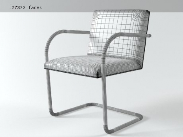 Brno Tubular Side Chair 10