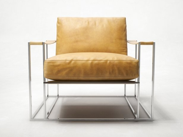 Sling Chair & Ottoman 3