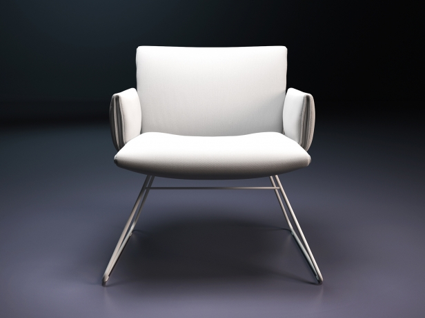 DS-515 Lounge Chair with Armrests 10