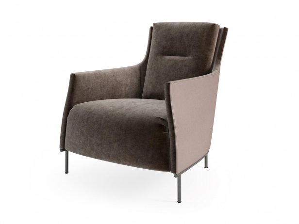 Riga Armchair Low Back New Base 3
