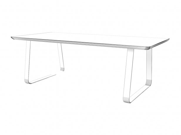 Vilna Dining Table 200, 220 8