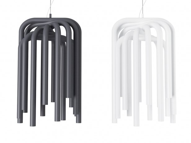 Pipes Suspension Lamp 2