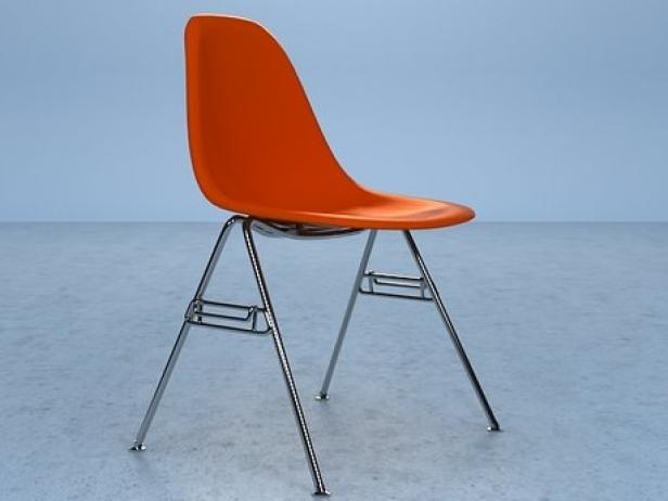 Eames Shell Chair 3d model | Herman Miller, USA