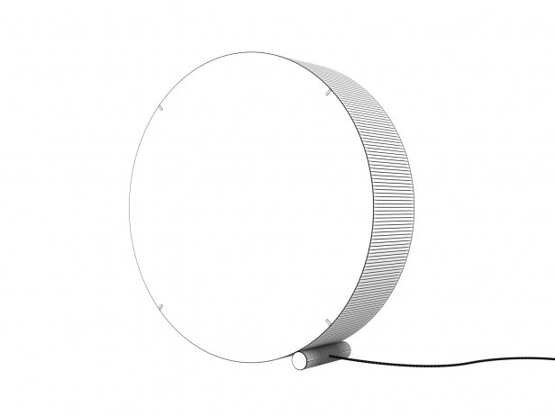 Round Floor Lamp 5
