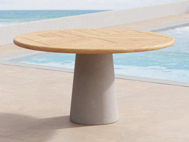 Dine Out Outdoor Round Tables 3d Model, Outdoor Round Tables