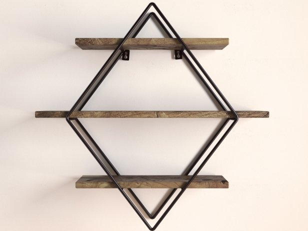 Diamond Cross Planes Shelf 3