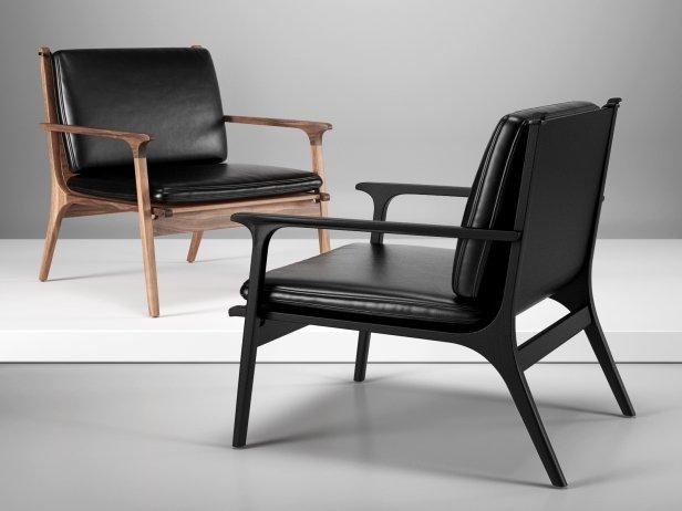 Ren Lounge Chair Large 1 & Ren Lounge Chair Large 3d model | Stellar Works