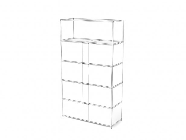 Dita High Unit and Shelving 4