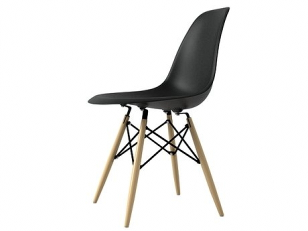 eames plastic chair dsw 3d model vitra. Black Bedroom Furniture Sets. Home Design Ideas