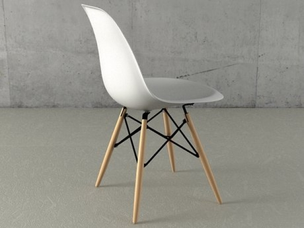 Eames Plastic Chair DSW 4