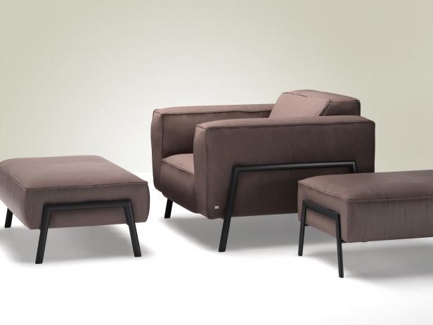 Bacio Armchair 3D-Modell | Rolf Benz