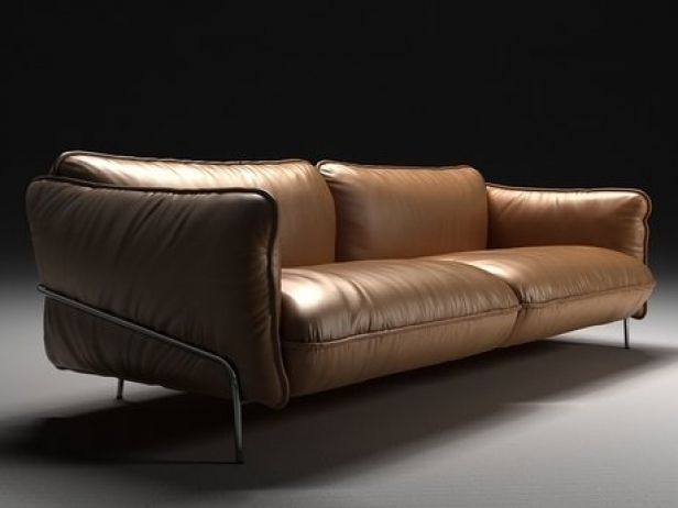 Continental sofa 3d model Swedese Möbler AB