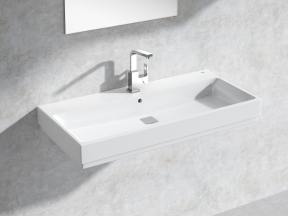 Cube Wall-hung Basin 100 Set