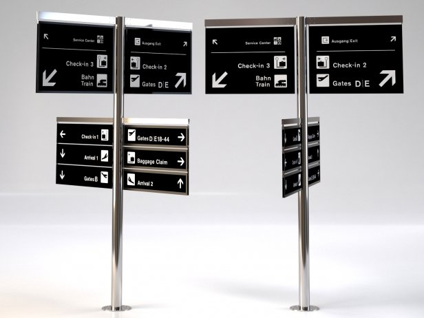 Signage Tree Airport System 2